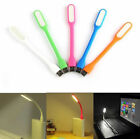 Mini Bright Flexible USB LED Light Computer Lamp for Notebook PC Laptop Reading