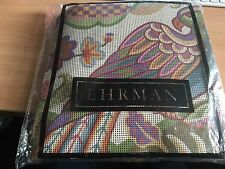VINTAGE EHRMAN NEEDLEPOINT KIT 2002. PARROT- JANET HAIGH. UNUSED.