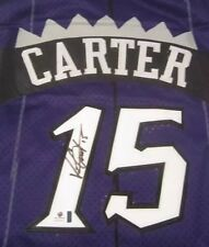 Vince Carter AUTO Signed Toronto Raptors Swingman Jersey GLOBAL COA