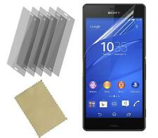 NEW PACK OF 5 SCREEN PROTECTOR FILM GUARD INVISIBLE GUARD FOR SONY XPERIA Z3