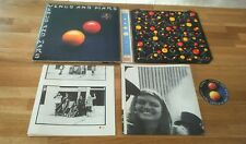 Wings Venus And Mars UK LP with inner posters stickers The Beatles McCartney