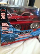 Maisto 1967 RED FORD MUSTANG GT Diecast Model KIT 1:24 Pro Rodz Car Automobile
