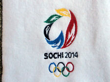 SOCHI 2014  Committee Staff BID scarf  with Pictograms  Very Rare &  Brand new
