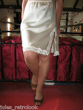 Worn Vintage Style Ladies Stockings Tan