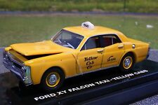 Road Ragers - 1971 XY Ford Falcon Brisbane Yellow cab Taxi  - Scale 1:64