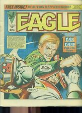 EAGLE weekly British comic book April 21 1984 VG+ (no stickers)