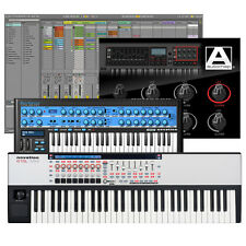 Novation 61 SL MK2 25-Key USB MIDI Keyboard Controller + Automap 3 Software