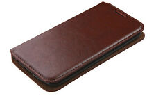 iPhone 7 Wallet Brown Case Leather - Like Cover Flip and Card Slot Pocket