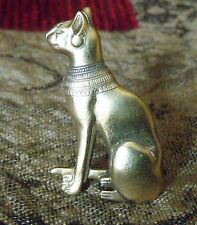 VINTAGE EGYPTIAN REVIVAL CAT BROOCH