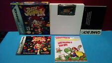 Super Puzzle Fighter II Nintendo Game Boy Advance Game Boxed Complete Capcom