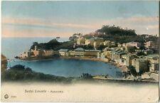 1917 Sestri Levante - Panorama della costa, Genova - FP COL VG
