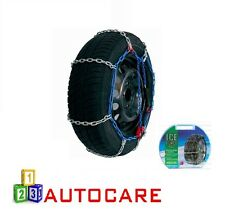 "9mm Snow Chains 13"" 165/80-13 To TRX 190/55-365 2 Pack Size 5 Sizes in Details"
