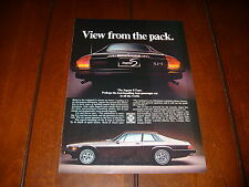 1978 JAGUAR S TYPE XJ-S  ***ORIGINAL AD***
