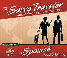 Savvy Traveler Spanish Food & Dining (2 CDs) by Savvy Traveler *NEW IN BOX*
