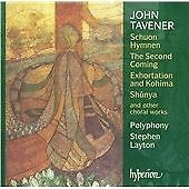 John Tavener: Schuon Hymnen/The Second Coming/... CD NEW