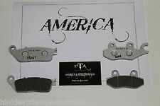 TRIUMPH AMERICA FRONT &  REAR BRAKE PADS 2 X SET = 4 pads  FREE POST* Up to 2015