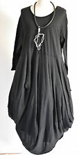 FAB SARAH SANTOS  cotton parachute dress  size  M/L BLACK