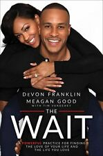 Devon Franklin SIGNED Book The Wait Autographed Hardcover First Edition w/ COA