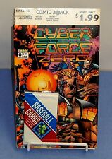 NRFP 1993 CYBER FORCE ZERO #0 AND SUPERMAN THE MAN OF STEEL #22 COMIC 2 PACK