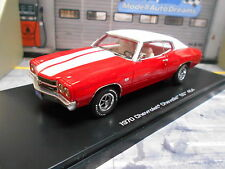 CHEVROLET Chevelle SS 454 Coupe rot red 1970 Muscle Car V8 SONDERPREIS Ertl 1:43