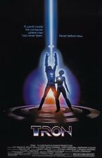 Tron movie poster  : 11 x 17 inches : Jeff Bridges