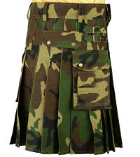 New US Army Camo kilt with  DHL Shipping