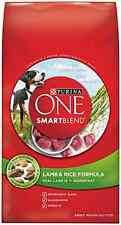 Purina ONE SmartBlend Dry Dog Food, Lamb & Rice Formula, 8-Pound Bag, Pack of 1