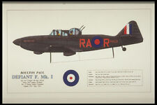 419056 Boulton Paul Defiant F Mk I A4 Photo Print