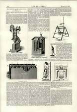 1890 Telescopic Bucket Fire Extinguisher Weymersch Battery Reim Firegrate