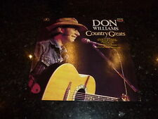 DON WILLIAMS - Country Greats - 1987 UK 14-track LP