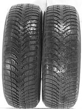2 1956015 Michelin 195 60 15 Alpin A4 Part Worn Used Tyres x2 195/60 Winter