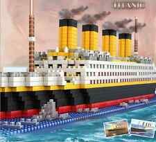 Titanic Ship Nano Diamond Building Bricks Blocks 1680pcs DIY Toy Boxed Xmas Gift