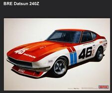 BRE Datsun 240Z Car Poster New! Own It!