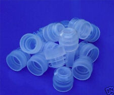 15 PE Stoppers / Bungs / Closures for 16mm Test Tubes
