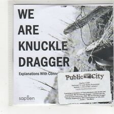 (FS27) We Are Knuckle Dragger, Explanations With Connotations - 2010 DJ CD