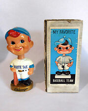 1968 Bobble Head Nodder Chicago White Sox with Original Box Gold Base