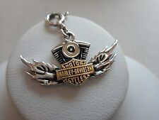 2004 Authentic Harley Davidson Sterling Silver GF Charm or Pendant RE54