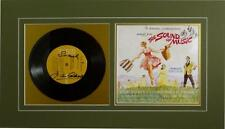 JULIE ANDREWS PHOTO AUTHENTIC AUTOGRAPH SIGNED RECORD LP SOUND OF MUSIC DISPLAY