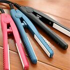 Professional Mini Portable Travel Ceramic Flat Iron Hair Straightener Splint NK