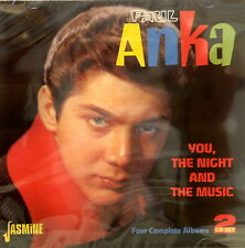PAUL ANKA 'You, The Night And The Music' - 2CD Set on Jasmine