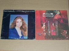 PATTI DAHLSTROM lot 2x LP debut 1st s/t YOUR PLACE OR MINE both are promos