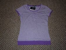 Hang Ten Purple & White T-Shirt Size M New with Tags