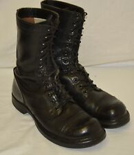 Vintage Double H HH 975 Military Combat Jump Motorcycle Steampunk Boots Size 7 D