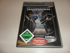 PLAYSTATION 2 PS 2 TRANSFORMERS: the GAME PLATINUM []