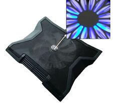"""Notebook Fan with 23cm Large fan Laptop Cooler Pad 15-16-17"""" Inch Maxi fan"""