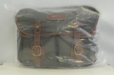 Billingham Small Hadley Bag Sage/Tan Color New