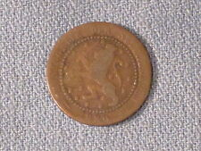**** 1880   1 cent coin / Netherlands.  Very nice item.