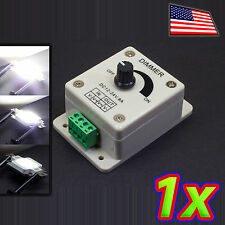 12-24V LED Driver and Brightness Controller PWM Dimmer 8Amp Switch for 5050 3528