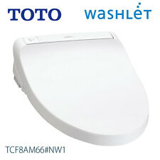 [New Year] TOTO JAPAN WASHLET Toilet Seat with Warm Bidet TCF8AM66 WHITE