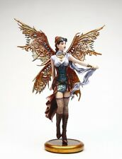 BRIGID ASHWOOD STEAMPUNK WINGED FAIRY JESS MOONLIT FLIGHT STATUE FIGURINE FIGURE
